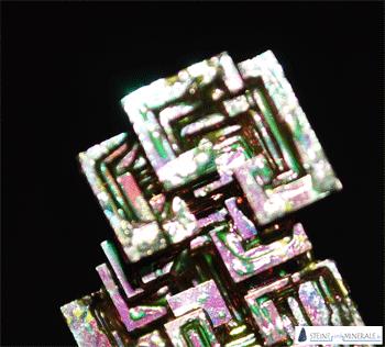 wismut - Mineral und Kristalle