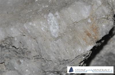 Anhidrit - Aufnahme des Minerals