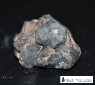 Bergkristall in Rhyolith