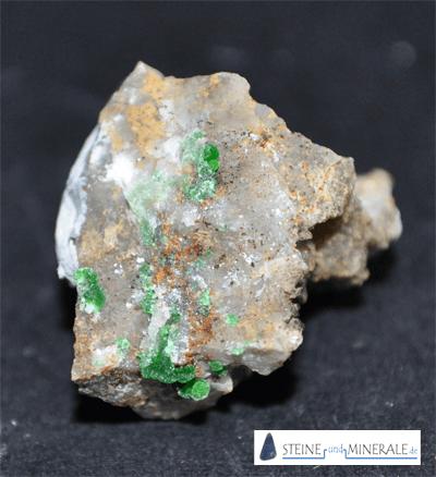 conichalcita - Aufnahme des Minerals