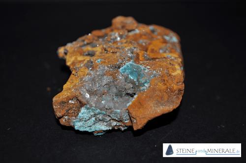 hemimorfita - Aufnahme des Minerals