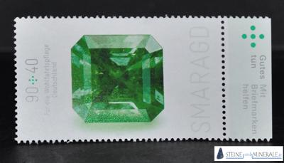smaragd_briefmarke - Mineral und Kristalle