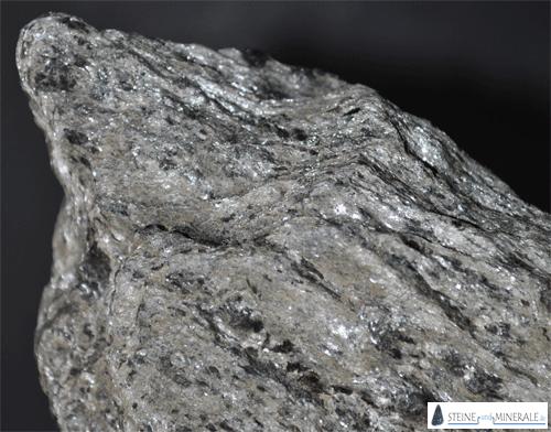 muskovitschiefer - Aufnahme des Minerals