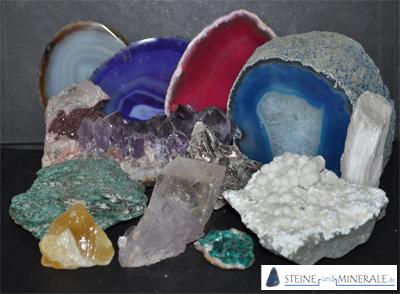 Steine mineralien und edelsteine gemeinsamkeiten und unterschiede