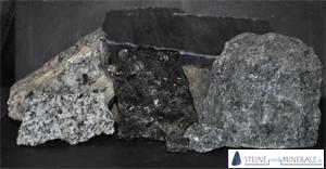 Schwarzer Granit rohstoff schwarzer granit